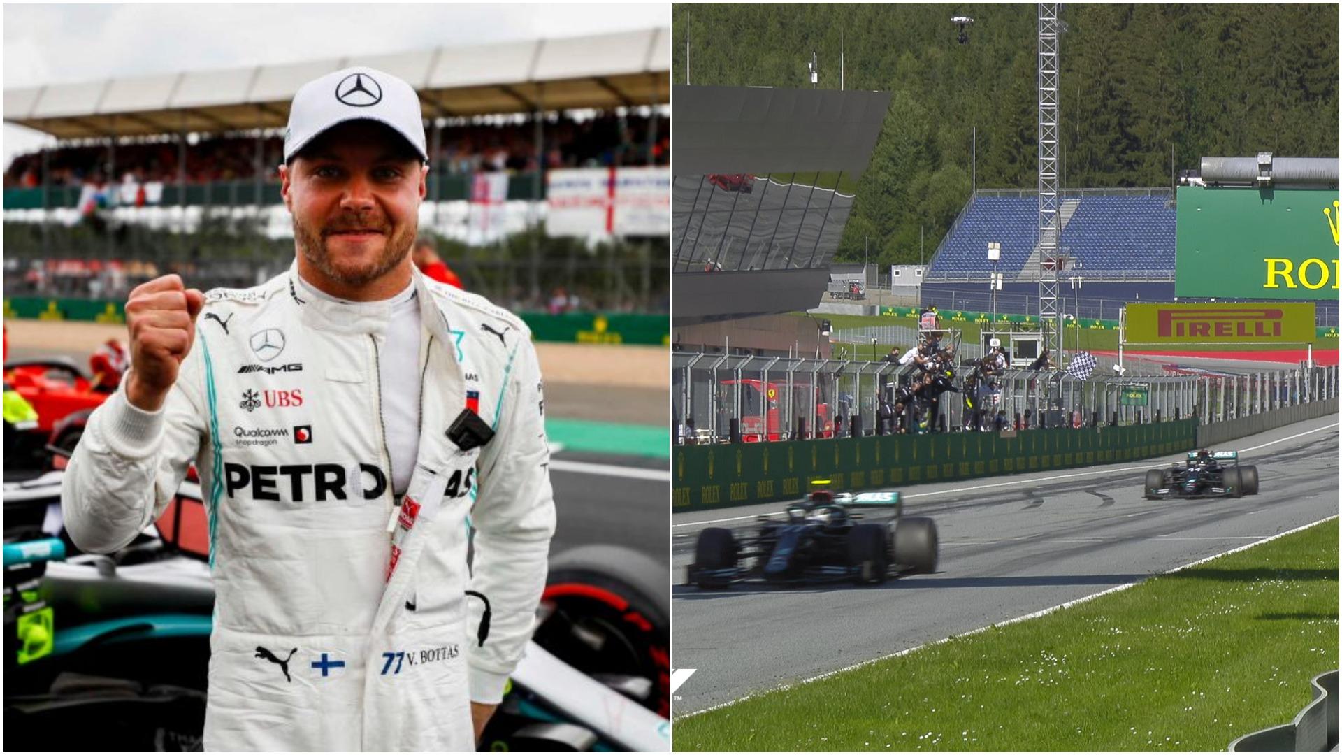 Formula 1/ Hamilton e pëson keq, Bottas fiton çmimin e madh të Austrisë