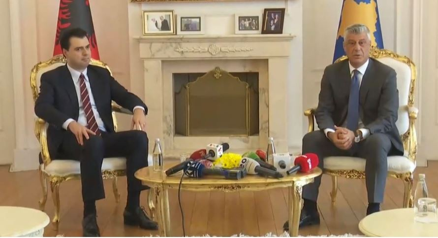 Basha meeting with Thaçi: I expressed to the president my support and that of the opposition