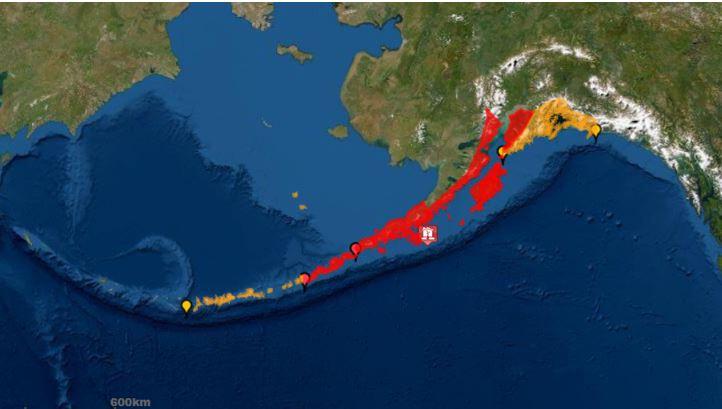 Tërmet me magnitudë 7.8 godet Alaskën, alarm për cunami