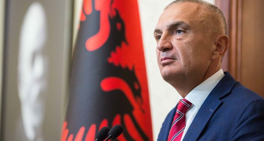 Albanian president congratulates Trump on the U.S Independence