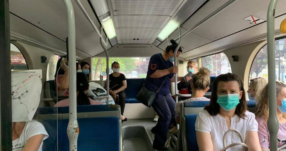 Albania reopen public transport today