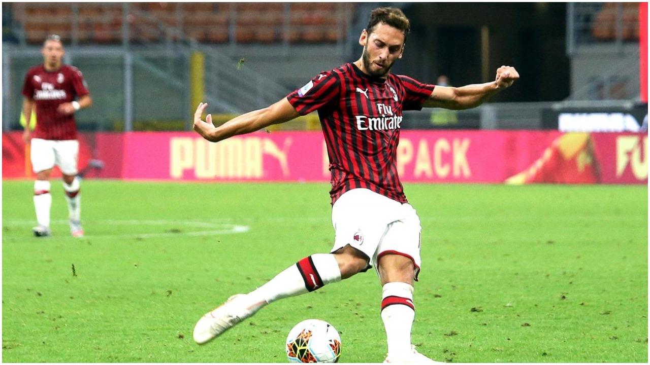 VIDEO/ Gafë e pafalshme e portierit, Calhanoglu shënon të dytin për Milanin