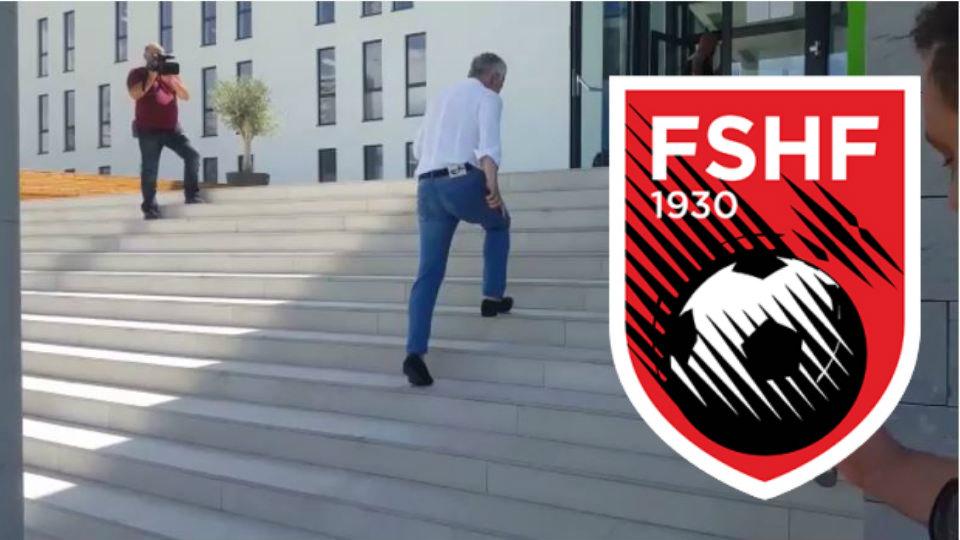 """Hetimet për Bylisi-Tirana, Halili dhe """"banda bardheblu"""" zbarkojnë në FSHF"""
