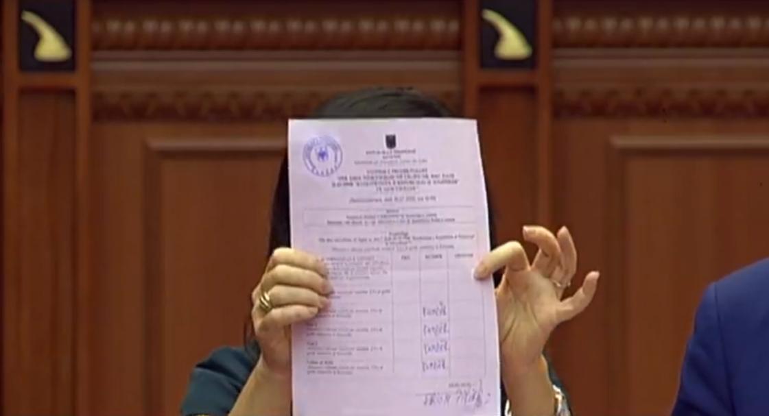 """EMRAT/ Këta janë deputetët që votuan kundër ndryshimeve kushtetuese për """"Zgjedhoren"""""""