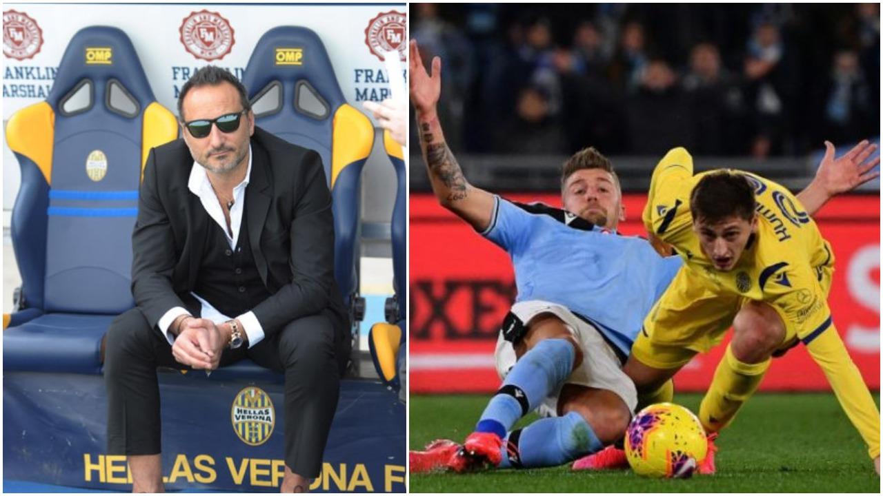 Inter apo Lazio? Presidenti i Hellas Verona flet rreth së ardhmes së Kumbullës