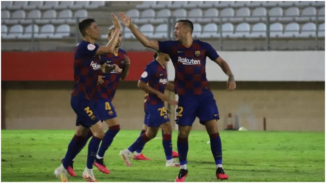 VIDEO/ Rey Manaj rikthehet te goli, eviton disfatën e Barcelonës