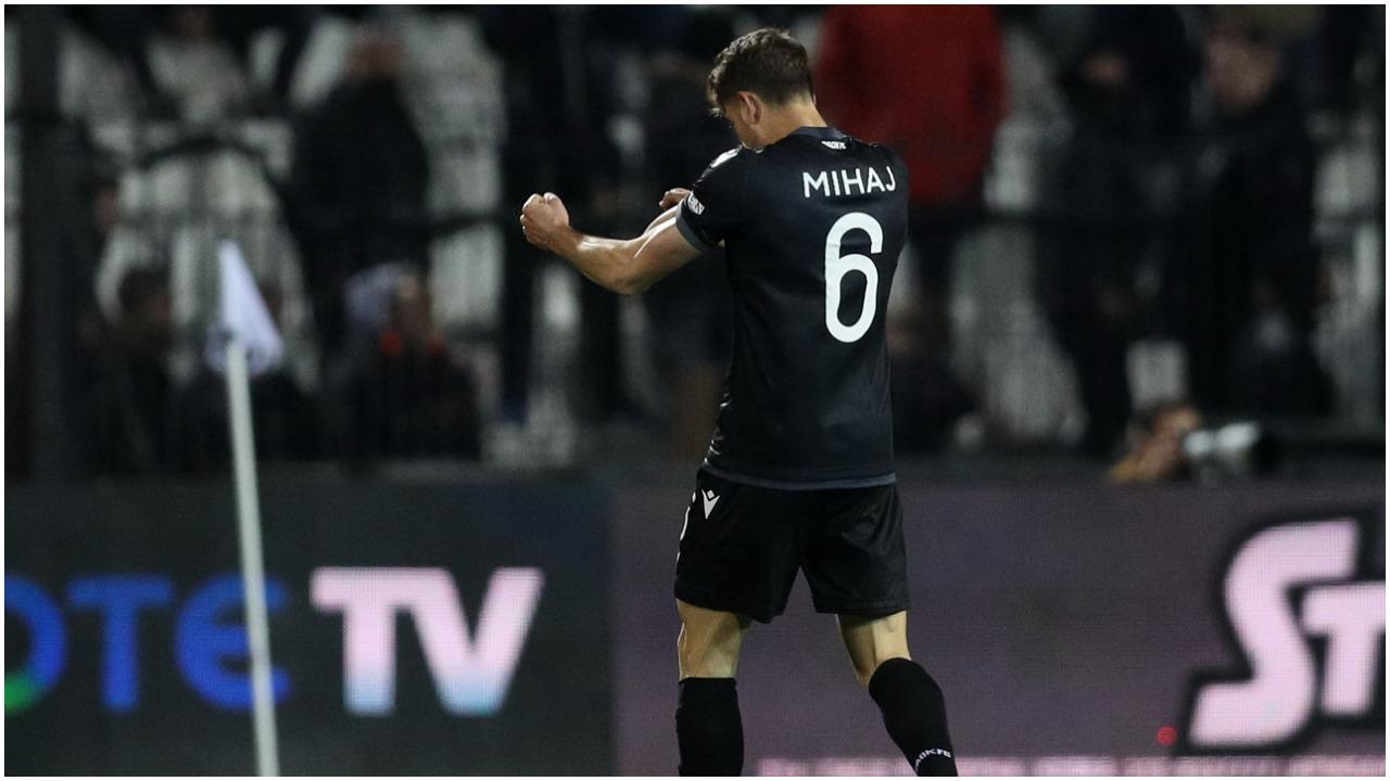 Goli i parë në karrierë, Mihaj: Speciale të shënoja kundër Olympiacos