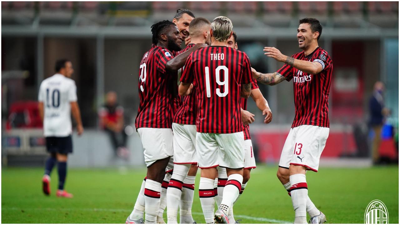 VIDEO/ Pesë gola për triumfin e radhës, ky Milan është i frikshëm!