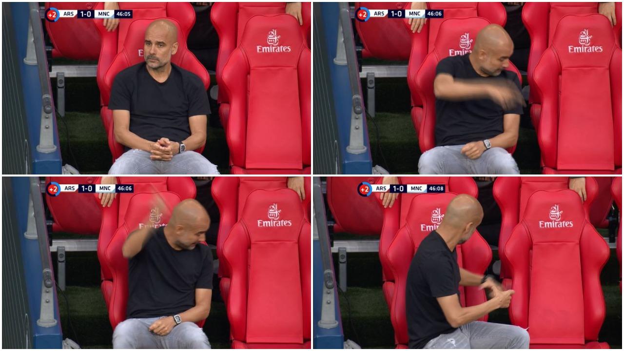 VIDEO/ Pep Guardiola lë nam, video e tij bëhet virale në rrjet
