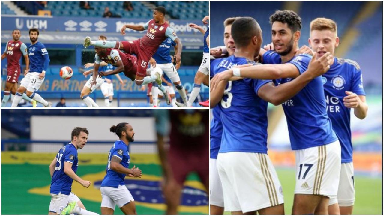 VIDEO/ Fitore jetike për Leicester City, Aston Villa e pëson në fund