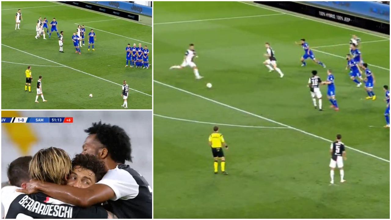 VIDEO/ Skema perfekte, Ronaldo gjen golin dhe afron Juven me titullin