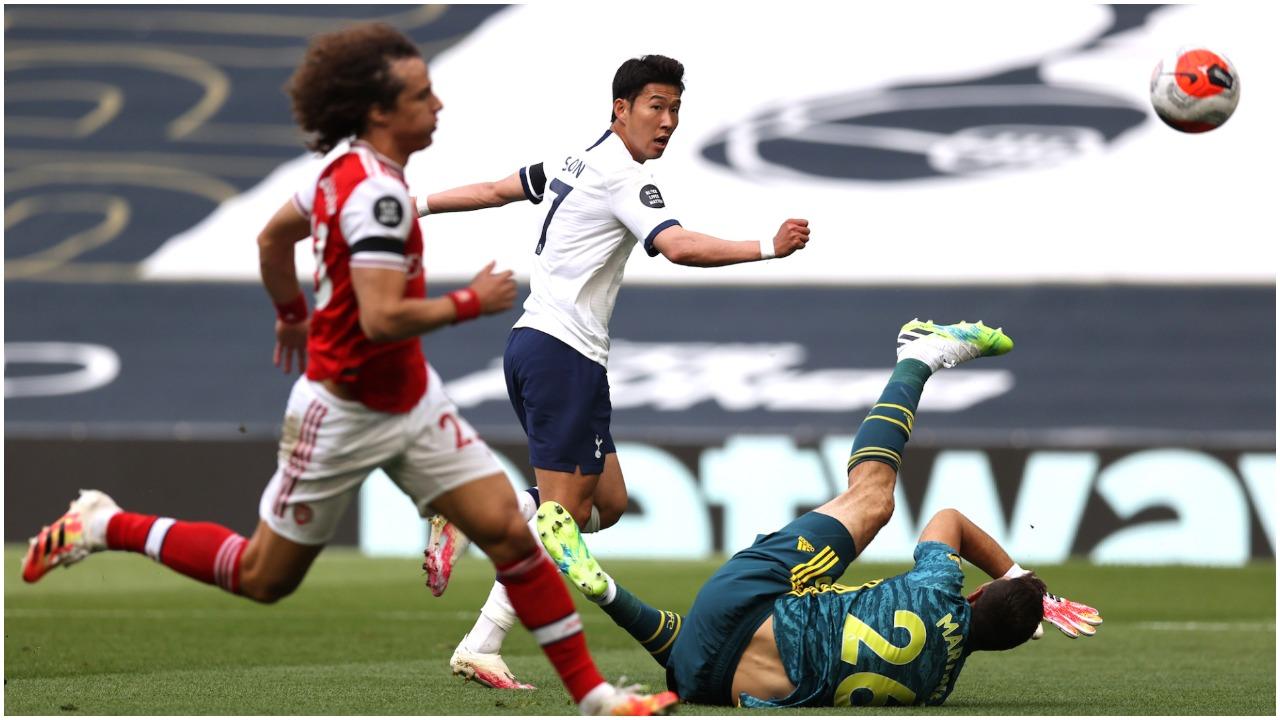 """VIDEO/ Tottenham fiton me përmbysje derbin, Mourinho """"makth"""" i Arsenalit"""