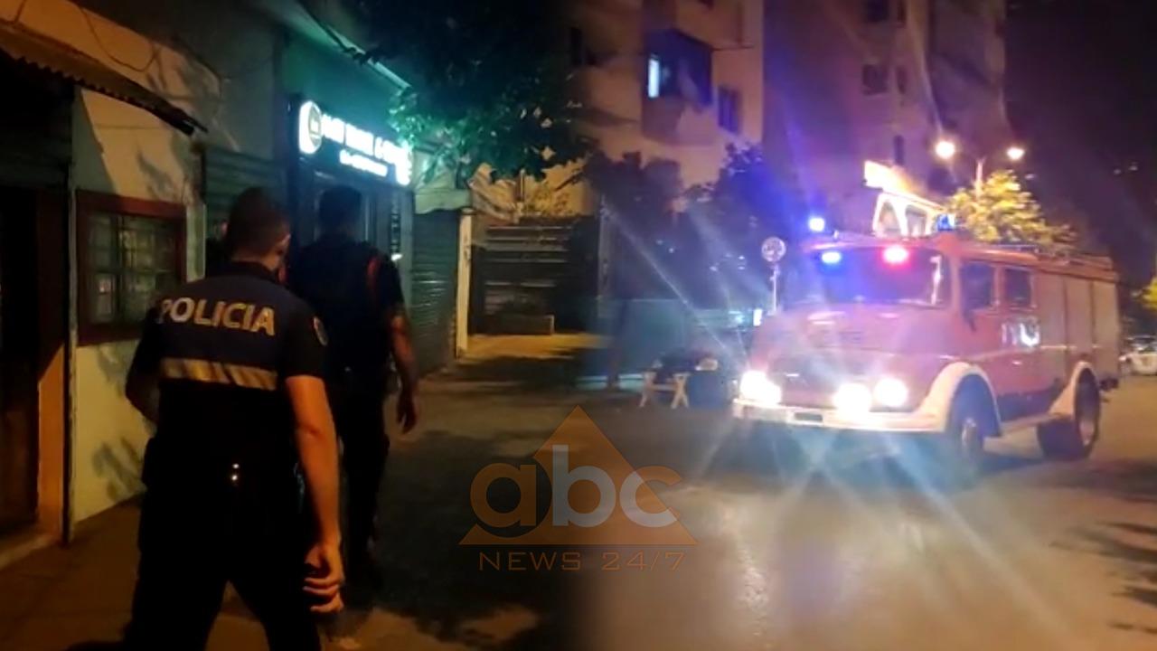 VIDEO/ Përfshihen nga flakët disa banesa në Durrës