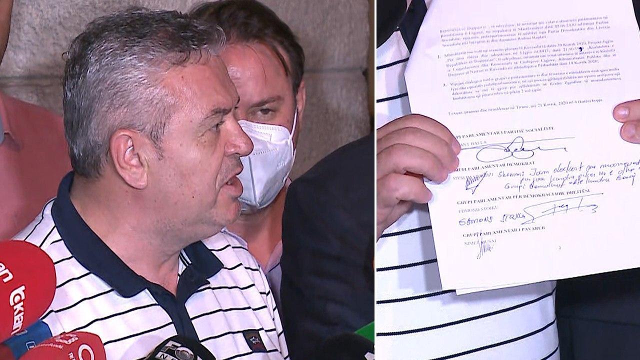"""Murrizi: Nuk kam firmosur për """"5 Qershorin"""", jam dakord me pikat e tjera"""