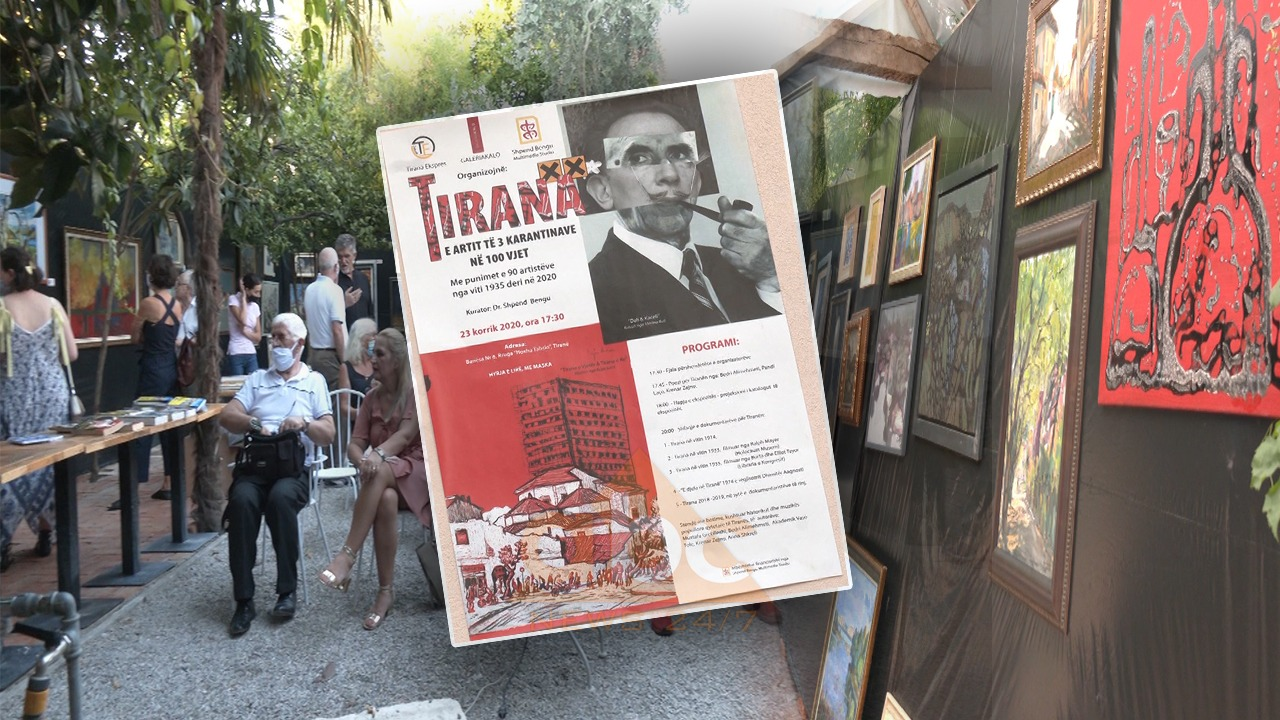 3 karantinat e Tiranës në 100 vjet vijnë nga magjia e penelave të 92 piktorëve
