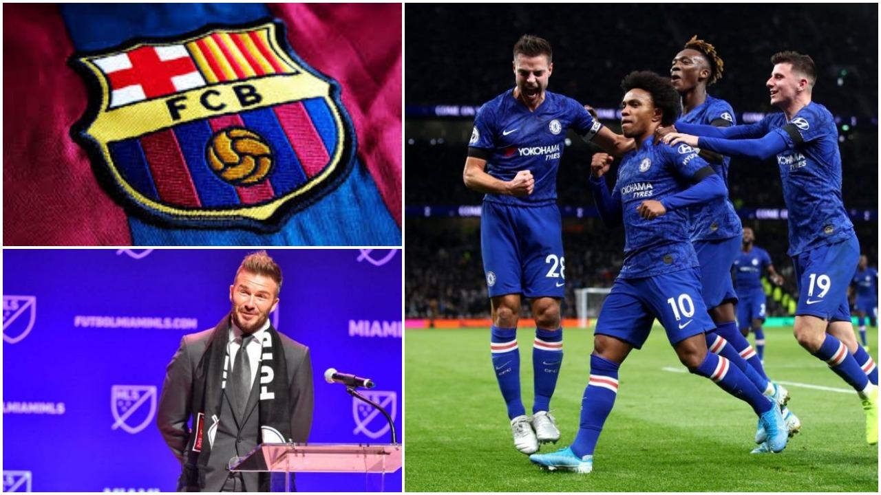 """Barcelona apo milionat e David Beckham, braziliani Willian në """"udhëkryq"""""""