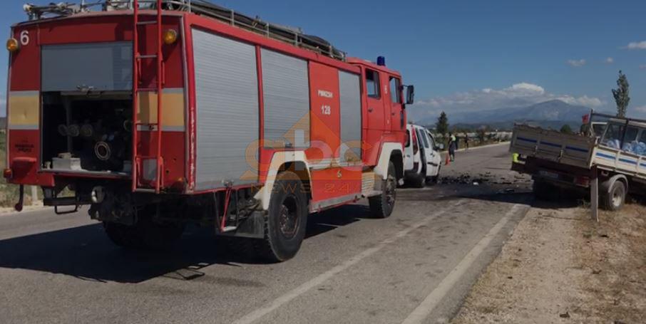 Aksident në Levan-Tepelenë, plagosen 4 persona