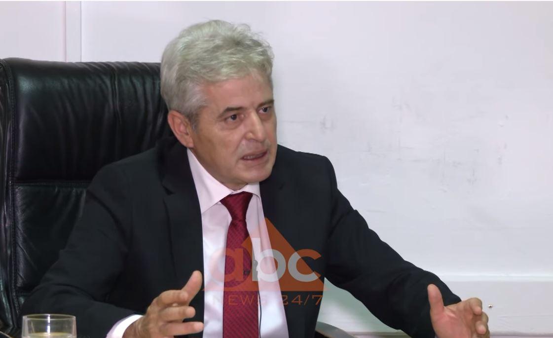 Ali Ahmeti: Ka ardhur koha për kryeministrin e parë shqiptarë në Maqedoninë e Veriut