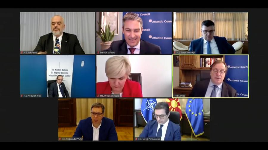 Samiti i liderëve të Ballkanit, Hoti: Ballkani, i fragmentuar ekonomikisht