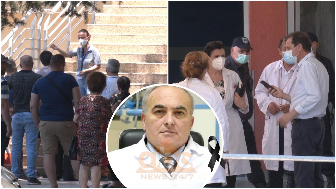 I jepet lamtumira e fundit mjekut Arjan Pushi! Pse po infektohen kolegët e tij në QSUT?!