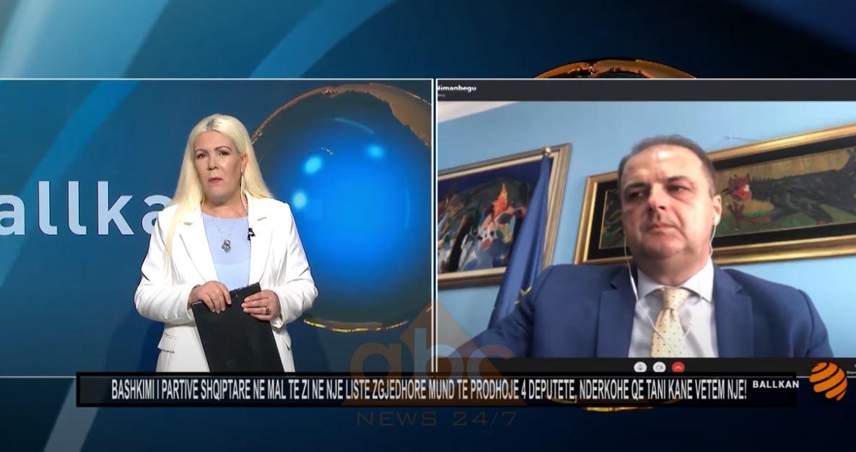 Nimanbegu: Bashkimi i partive shqiptare në Mal te Zi, mund të sigurojë 4 deputete, dhe jo vetëm një