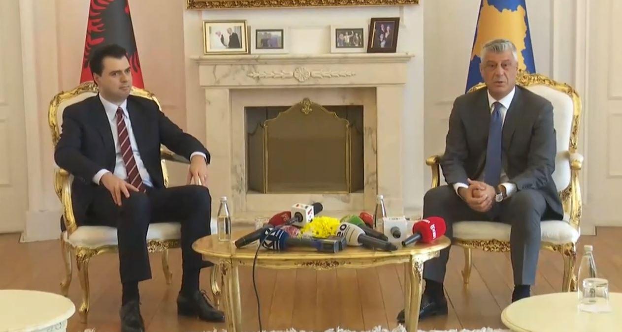 Basha takim me Thaçin: I shpreha presidentit mbështetjen time dhe të opozitës