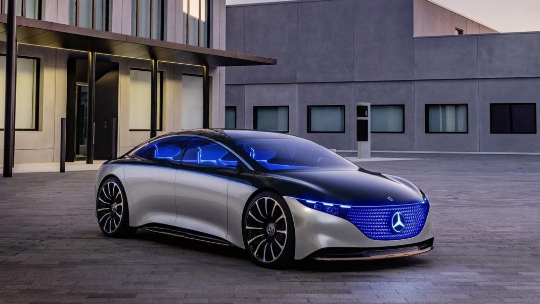 """""""Epokë e re për Mercedes"""", prezanton modelin tërësisht elektrik EQS"""