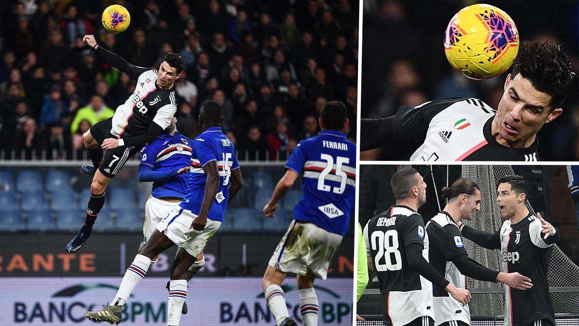 "VIDEO/ ""Kur Ronaldo fluturonte"", si Juve i bën presion Sampdorias"