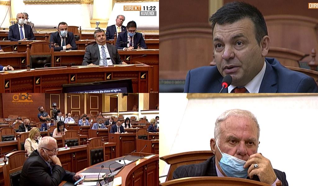 Deputetet pa maska në Kuvend, a duhen gjobitur se kanë shkelur rregullin?