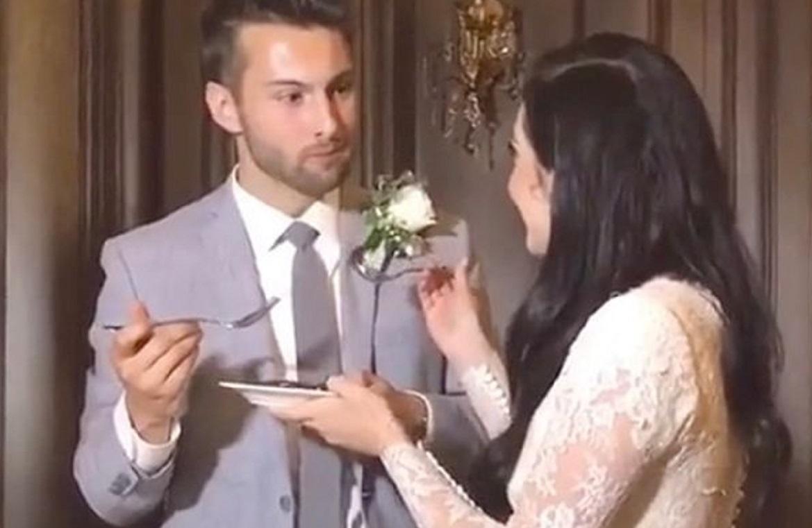 """Dhëndri bën gabimin e papritur gjatë dasmës, videoja """"djeg"""" rrjetin"""