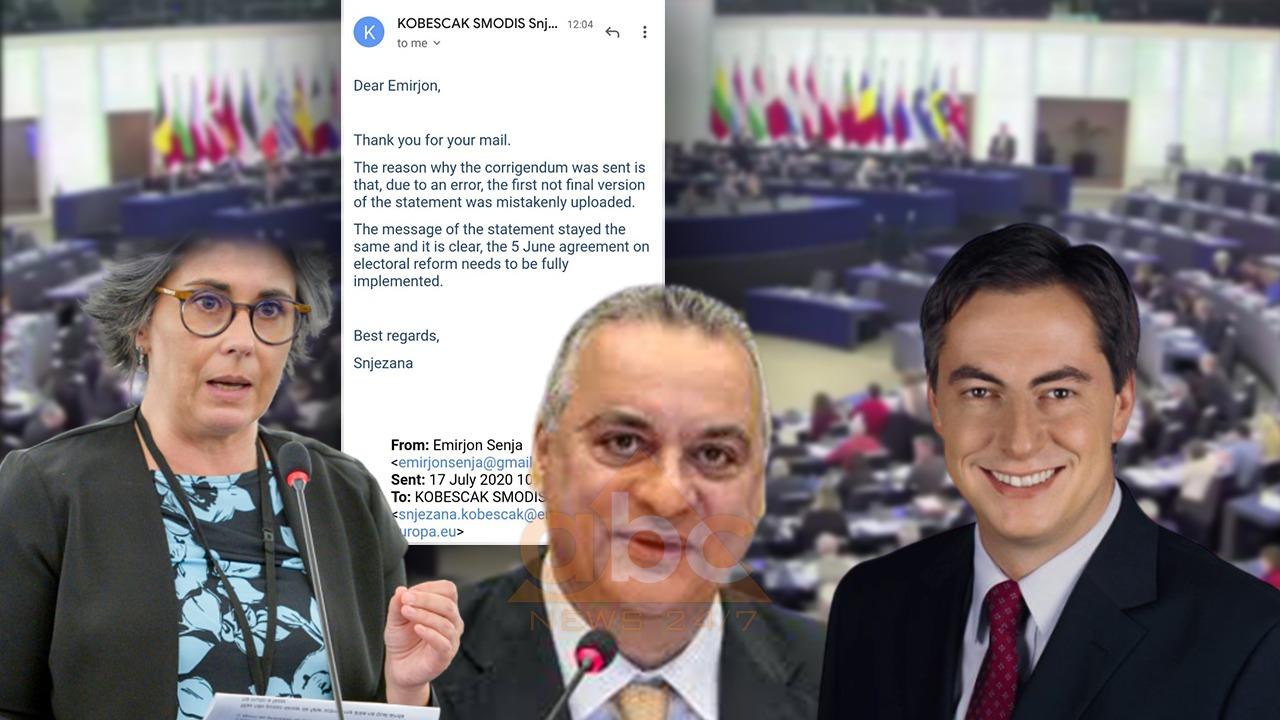 EKSKLUZIVE/ PE për Abcnews.al: Pse u fshi dhe ripublikua deklarata e tre eurodeputetëve. Thelbi mbetet i njëjtë