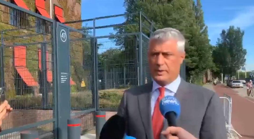 Thaçi pas 6 orësh intervistë në Hagë: Sot u diskutua për çështje teknike