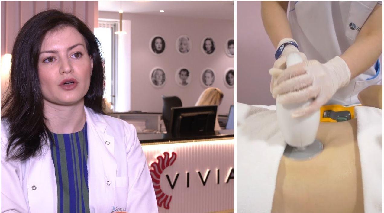 Trajtimet estetike në stinën e verës  klinika  Vivia  në Spitalin Amerikan 3 ofron shërbimet më bashkëkohore
