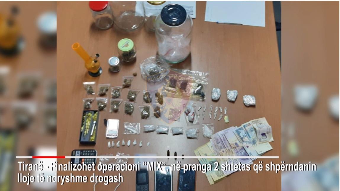 """Policia arreston dy persona në Tiranë, pas kontrollit gjen """"hambarin"""" e drogës"""
