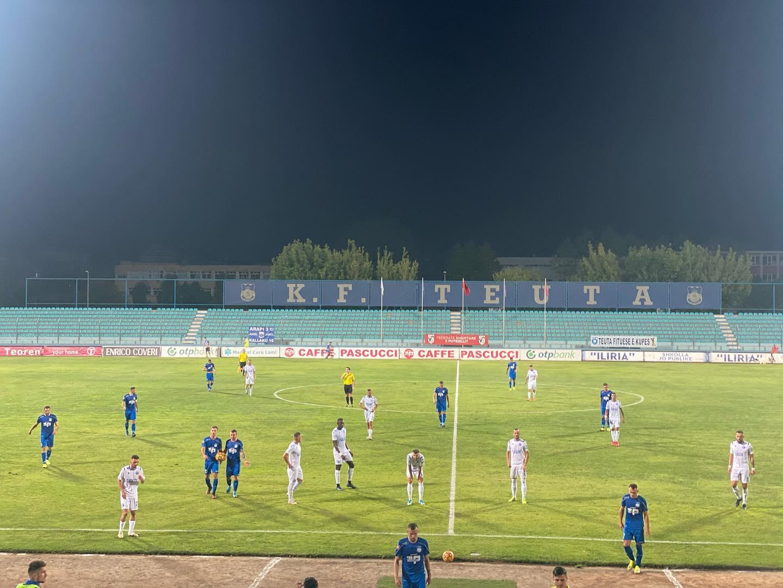 VIDEO/ Rroca befason Teutën, nxehet gjysmëfinalja në Durrës