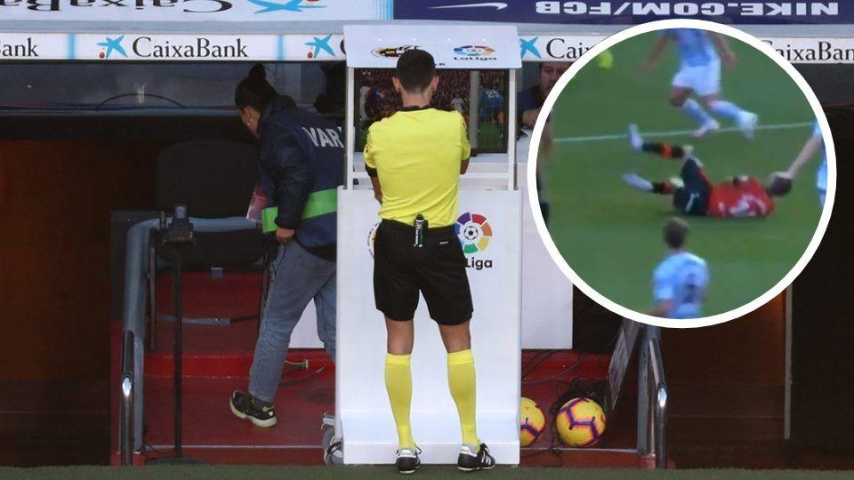 VIDEO/ Penallti skandaloze në La Liga, për çfarë dreqin duhet VAR-i?!
