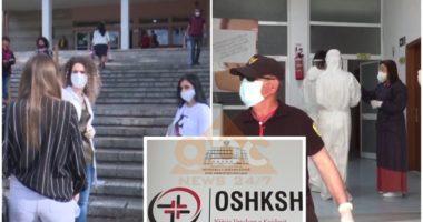 Shtohen bluzat e bardha me COVID-19, në Elbasan e Berat preken 6 mjekë, infermierë dhe laborante