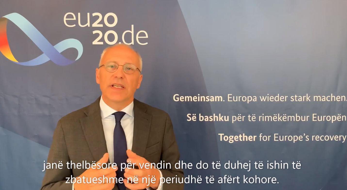 Kryesimi i BE-së, Ambasadori Zingraf: Gjermania pranë Shqipërisë por përmbushja e 15 kushteve thelbësore