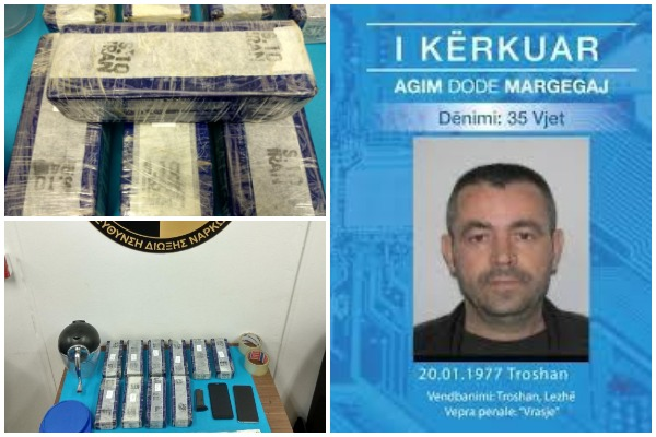 EMRI/ U arratis nga burgu grek, shqiptari kapet me 5.5 kg heroinë në Athinë