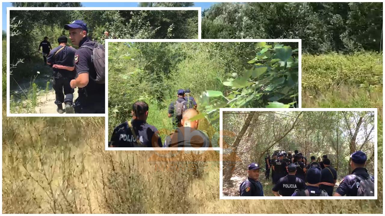 VIDEO/ Gomonia u gjet e braktisur, dhjetra forca policie kërkojnë skafistët në pyll
