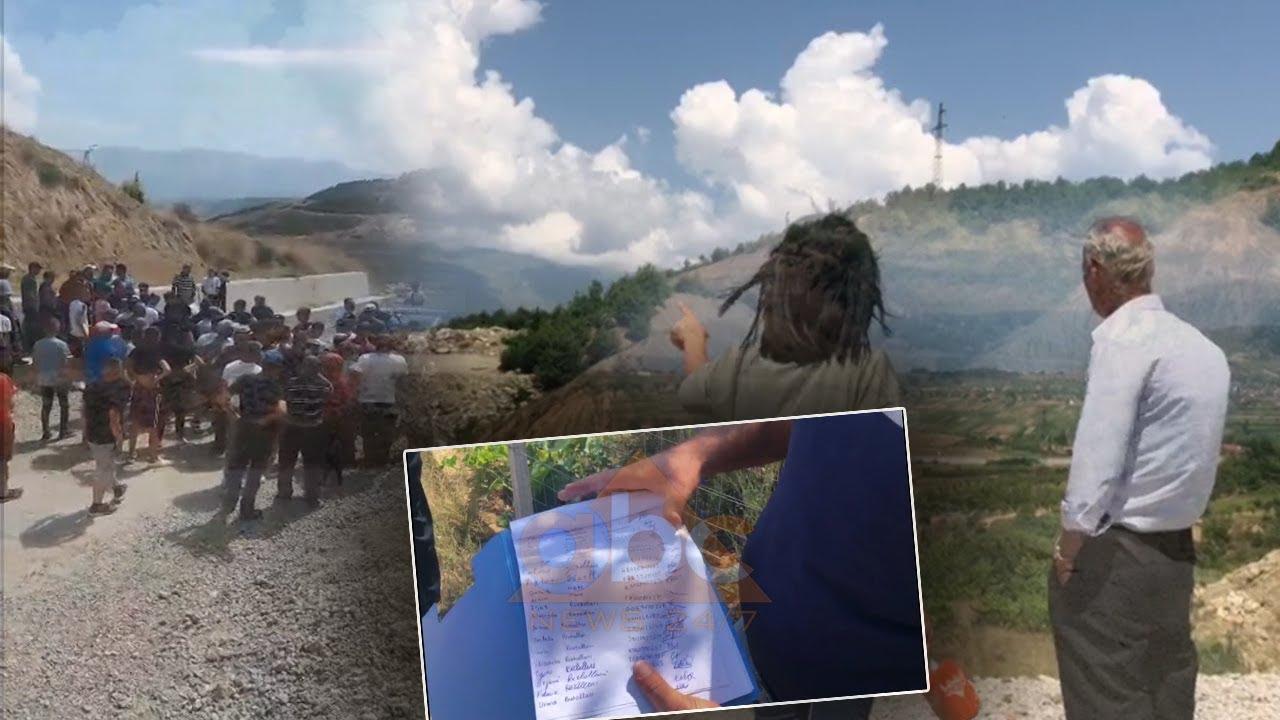 Banorët e dy fshatrave në Pogradec kundërshtojnë landfilldin: Na rrezikon jetën, nuk do ta lejojmë