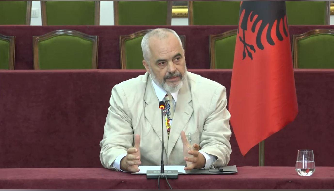 """""""Shqipëria nuk ka kusht të bëjë të lumtur Bashën"""", Rama: Nëse nuk e do marrëveshjen, e heqim"""