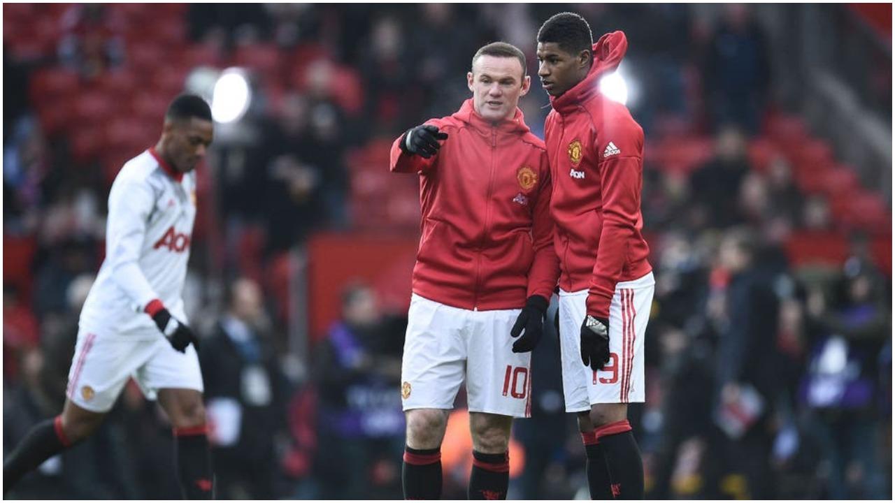 I la stafetën vite më parë, Rashford ndjek hap pas hapi Wayne Rooneyn