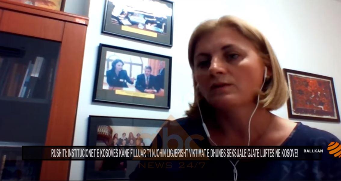 Feride Rushiti: Në Kosovë institucionet kane filluar t'i njohin ligjerisht viktimat e dhunes seksuale