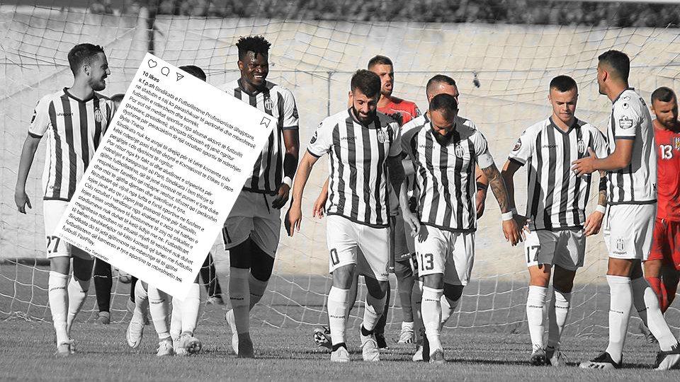 Estrada në Ballsh, Sindikata: Futbollistë, mos u bëni bashkëfajtorë në komedi!