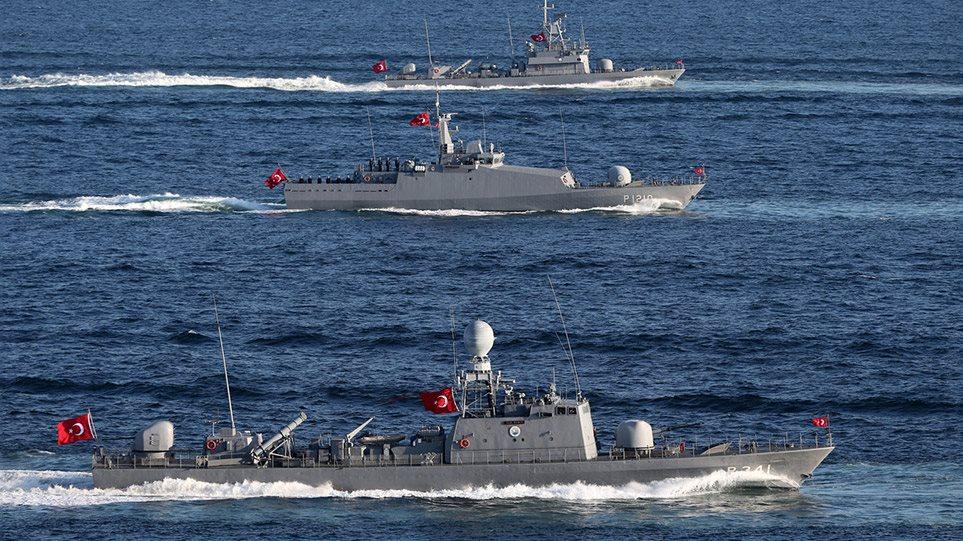 Përplasja me grekët, urdhër i papritur për anijet turke