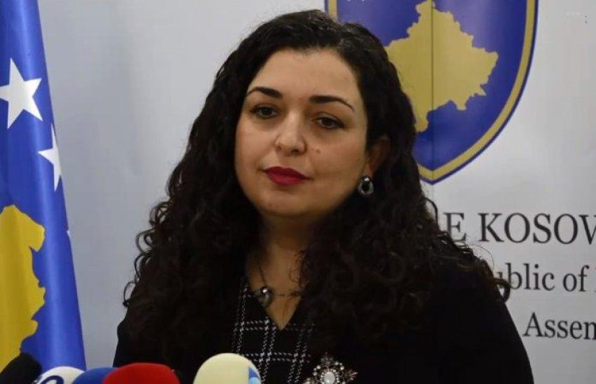 """Vjosa Osmani thirrje ndaj """"Apple"""": Kosova është pjesë e botës tuaj, përfshijeni edhe në hartë"""