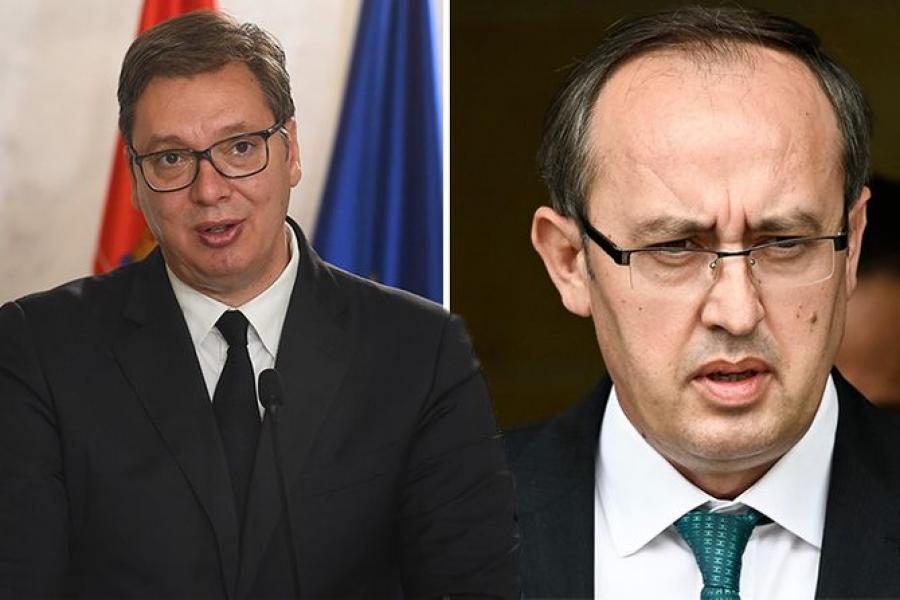 Vuçiç para takimit të së dielës me Hotin, u drejtohet serbëve për dialogun