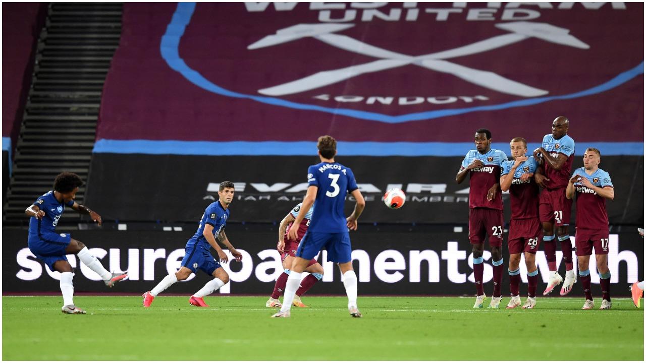 Dopieta e Willian nuk mjafton për Chelsea, West Ham triumfon në derbi!