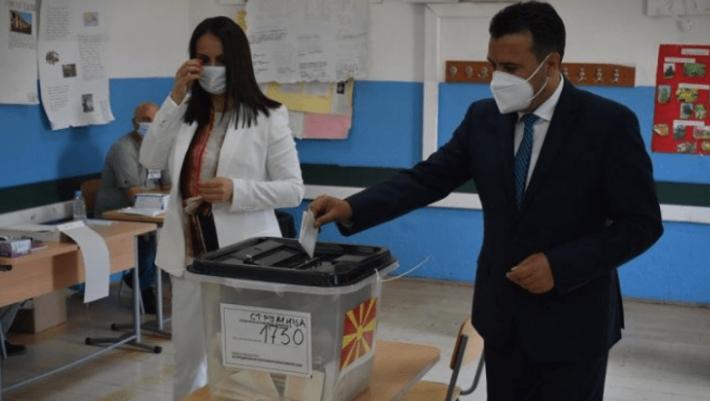 Zaev pas votimit: Zgjedhje shumë të rëndësishme, koalicioni jonë pret mbështetje të madhe
